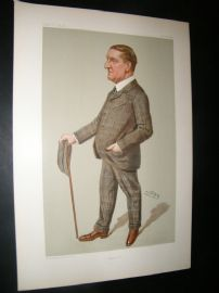 Vanity Fair Print 1902 Walter Durnford, Teacher